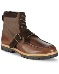 Ben Sherman - Head Start Leather Ankle Boots - Lyst