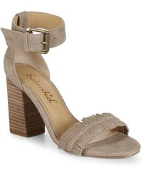 Splendid - Jakey Fringed Suede Sandals - Lyst