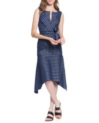 Tracy Reese - Directional Stripe A-line Dress - Lyst