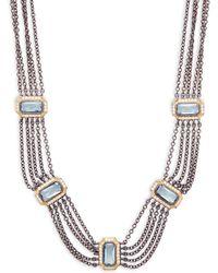 Freida Rothman - Modern Mosaic Necklace - Lyst