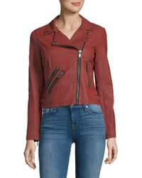 Saks Fifth Avenue - Long-sleeve Off Center Moto Jacket - Lyst