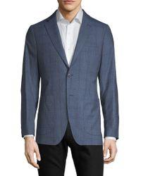 Saks Fifth Avenue - Plaid Wool Sportcoat - Lyst