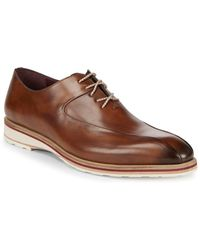 Mezlan - Lehman Leather Derbys - Lyst
