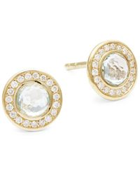 Ippolita - Lollipop 18k Yellow Gold Stud Earrings - Lyst