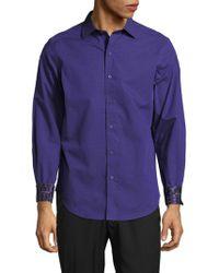 Robert Graham - Cibola Textured Cotton Shirt - Lyst