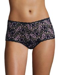 Hanky Panky - Cross-dyed Retro Thong - Lyst