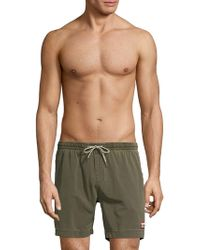 1bf31a8cef Deus Ex Machina - Classic Cotton Blend Swim Shorts - Lyst