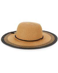 Saks Fifth Avenue - Contrast-edge Floppy Hat - Lyst