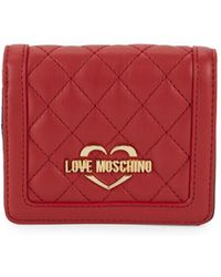 381e5757e8f Women's Love Moschino Coin purses and wallets Online Sale - Lyst