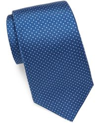 Saks Fifth Avenue - Dot-print Silk Tie - Lyst