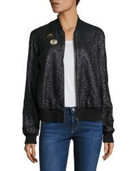 Love Sam - French Cup Sequin Bomber Jacket - Lyst