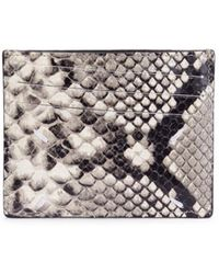 Maison Margiela - Python Leather Card Case - Lyst
