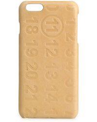 Maison Margiela - Calf Leather Iphone 5 Case - Lyst
