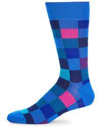 Bugatchi - Polychromatic Socks - Lyst