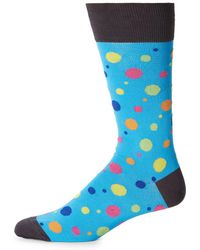 Bugatchi - Polka Dot Socks - Lyst