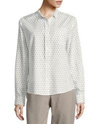 NYDJ - Printed Shirt - Lyst