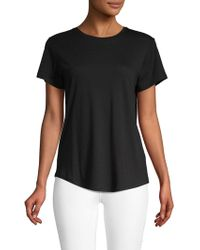 Vince - Classic Short-sleeve Top - Lyst