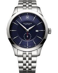 Victorinox - Alliance Round Stainless Steel Analog Watch - Lyst