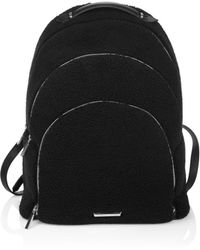 Kendall + Kylie - Sloane Faux Shearling Backpack - Lyst