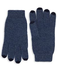 Saks Fifth Avenue - Color-tipped Cashmere Gloves - Lyst