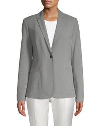 Tahari - Queena Single Button Blazer - Lyst