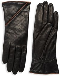 Portolano Textured Leather Gloves