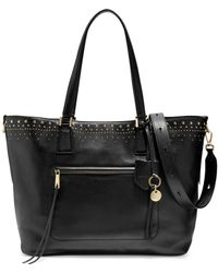 Cole Haan - Marli Stud Leather Tote - Lyst