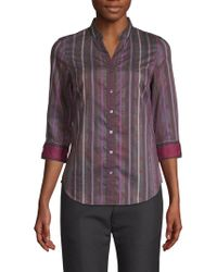 Robert Graham - Arverne Stripe Shirt - Lyst