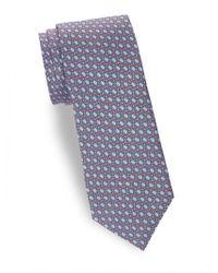 Saks Fifth Avenue - Chain Link Silk Tie - Lyst