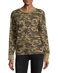 Chrldr - Camo Cotton Sweatshirt - Lyst