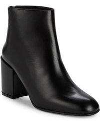 Stuart Weitzman - Instep Block Heel Ankle Boots - Lyst