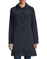 Jane Post - Classic Ruffled Coat - Lyst