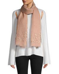 Saachi - Textured Wool Scarf - Lyst