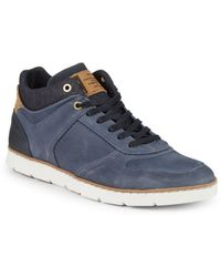 Steve Madden - Baloo Suede Low-top Sneakers - Lyst