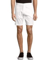CALVIN KLEIN 205W39NYC - Bedford Solid Slim-fit Cotton Shorts - Lyst
