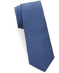 Saks Fifth Avenue - Diamond Silk Tie - Lyst