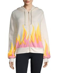Wildfox - Graphic Long-sleeve Jacket - Lyst