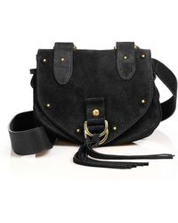 See By Chloé - Collins Leather Saddle Crossbody - Lyst