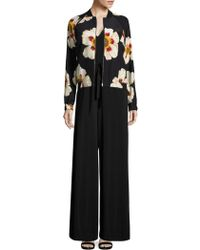 Lafayette 148 New York - Belted Sleeveless Jumpsuit - Lyst