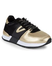 Tretorn - Loyola Metallic Low-top Trainers - Lyst