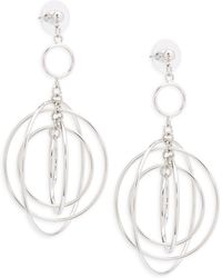 Cara - Multi Hoop Hang Earrings - Lyst