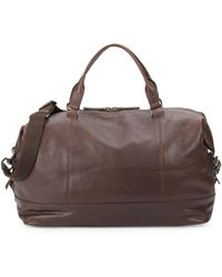 Frye - Adam Leather Overnight Bag - Lyst