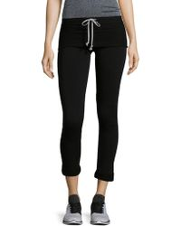R + R Surplus - Cuffed Rollover Fleece Joggers - Lyst