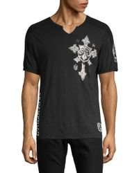 629f11db Affliction Warpath Graphic Tee in White for Men - Lyst