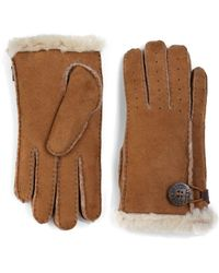 UGG - Bailey Shearling Gloves - Lyst
