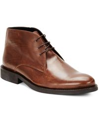 Bugatchi - Leather Lace-up Shoes - Lyst