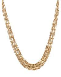 Saachi - Modern Chain Necklace - Lyst
