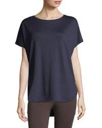 Natori - Zen Terry Short Sleeve Top - Lyst
