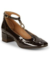 Chloé - Perry Patent Leather Mary Jane Court Shoes - Lyst