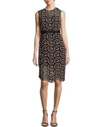 Cynthia Rowley - Paisley Lace Fitted Dress - Lyst